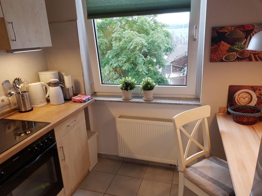 Apartment Wetter Küchenzeile Fenster