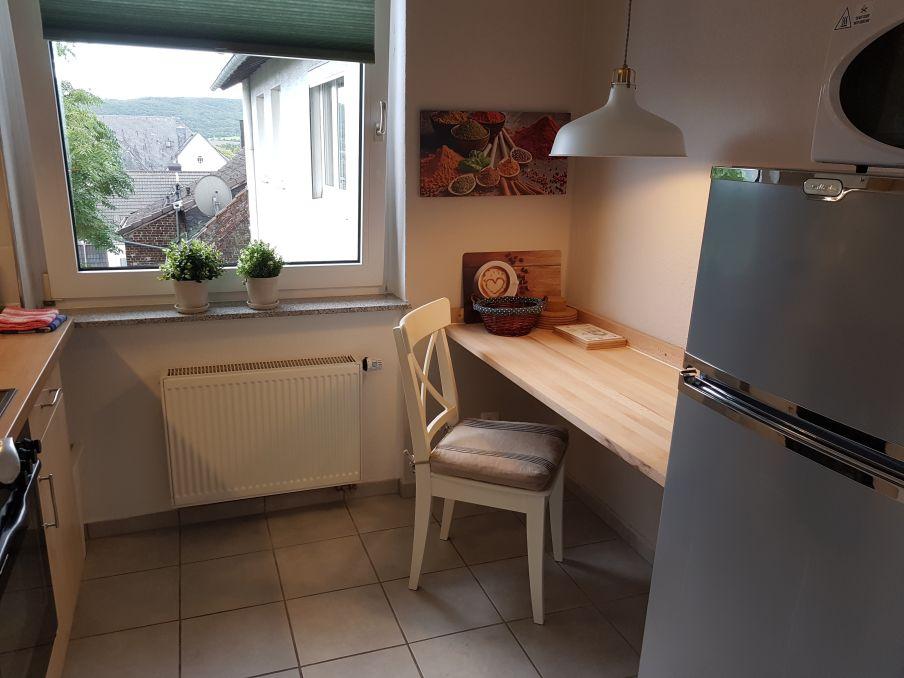 Apartment Wetter Küchenzeile Tisch