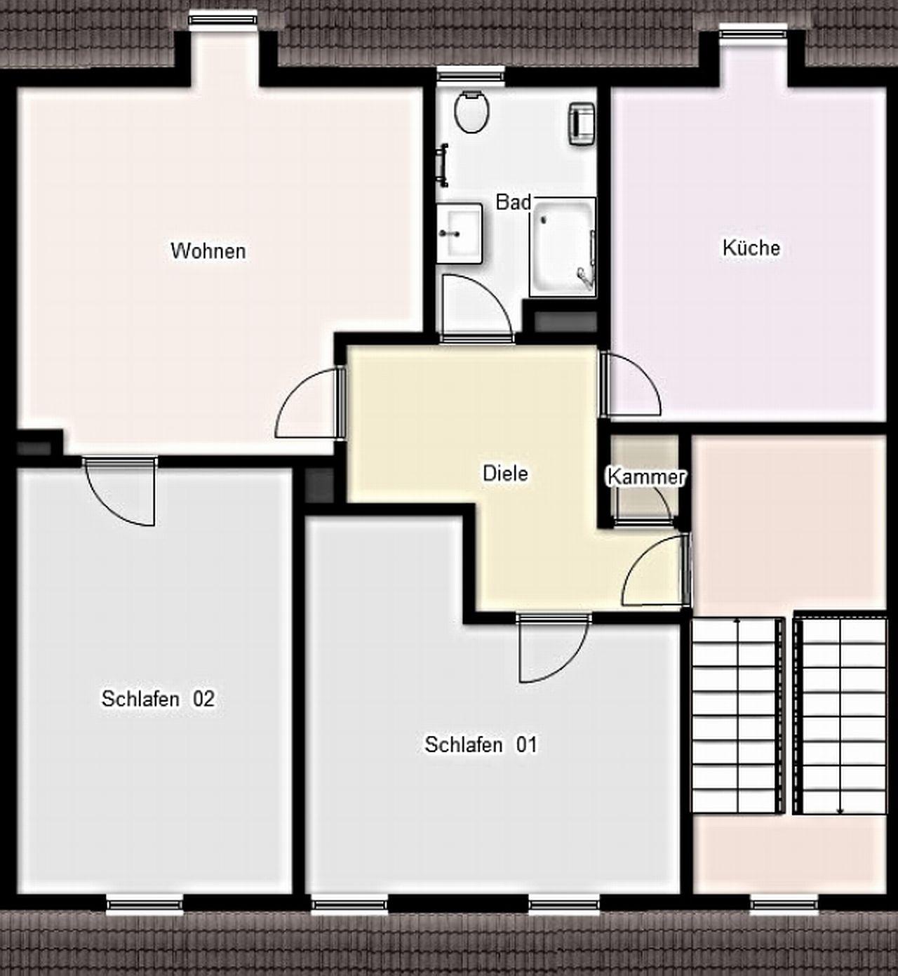 Grundriss Wohnung Dortmund